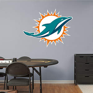 Miami Dolphins Logo Fathead Wall Decal
